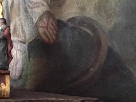 Maria Schlange Isaisweiher